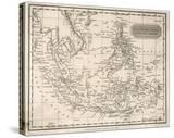 Map of the East India Islands Including the Philippines the Celebes Papua New Guinea Sumatra