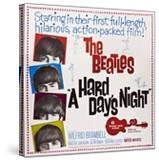 A Hard Day's Night  the Beatles  Paul Mccartney  John Lennon  George Harrison  Ringo Starr  1964