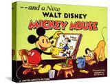 A New Walt Disney Mickey Mouse  1932