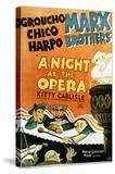 A Night at the Opera - Movie Poster Reproduction