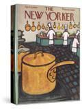 The New Yorker Cover - April 9  1960