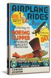 """""""Airplane Rides: Featuring the Boeing Clipper  America's Largest Trimotor""""  1929"""