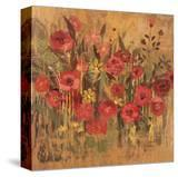 Floral Frenzy Red I