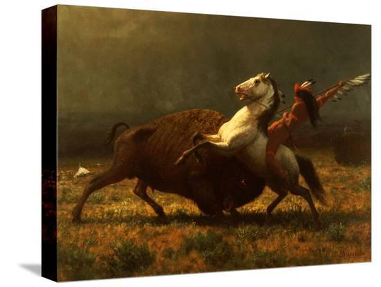 albert-bierstadt-the-last-of-the-buffalo-c-1888