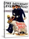 """""""Sink the Navy """" Saturday Evening Post Cover  November 30  1935"""