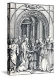 The Betrothal of the Virgin  1506