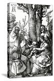 The Holy Family with St Anne and St Joachim  1511 (Woodcut)