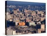 High Angle View Over City's Old Quarter  Havana  Cuba