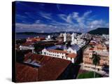 Rooftops of Casco Viejo  Panama City  Panama