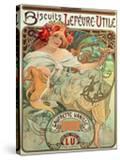 Poster Advertising 'Lefevre-Utile' Biscuits  1896