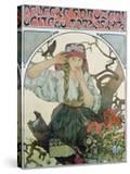 Poster 'Pévecké Sdruzeni Ucitelu Moravskych' (The Moravian Teachers' Choir)  1911