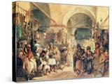 A Turkish Bazaar  1854