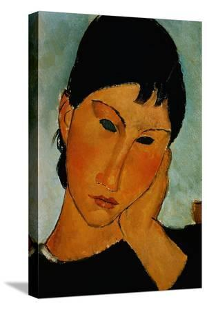 amedeo-modigliani-detail-of-female-head-from-elvira-resting-at-a-table