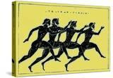 Race  Illustration from 'History of Greece' by Victor Duruy  Published 1890