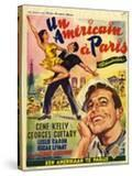 An American In Paris  Film Poster  1950s