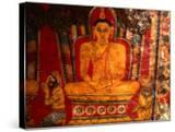 Paintings of Buddha in Mulkirigala Rock Temple Near Tangalla  Tangalla  Sri Lanka