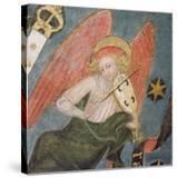 Angel Musician Playing a Viol  Detail from the Vault of the Crypt