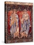 Angeli Laudantes  Tapestry Designed by Henry Dearle with Figures by Edward Burne-Jones Originally…