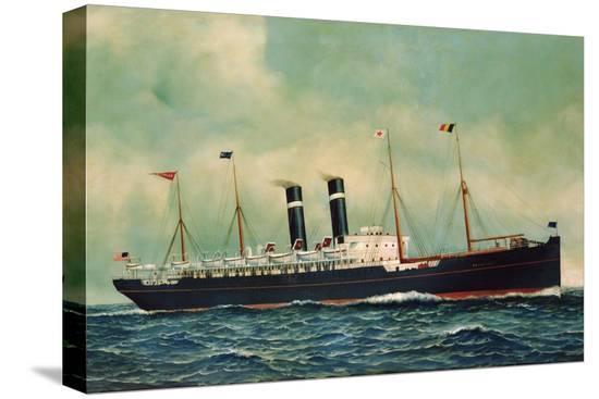 antonio-jacobsen-steamer-kroonland-1903