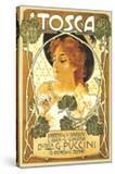 Art Nouveau Poster for Tosca