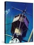 """Tower on Battleship "" March 9  1940"