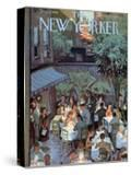 The New Yorker Cover - August 2  1958