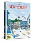 The New Yorker Cover - July 6  1981