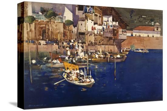 arthur-melville-a-mediterranean-port-1892