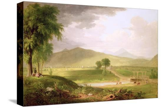asher-brown-durand-view-of-rutland-vermont-1840