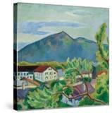 Spring Landscape in Tegernsee  1910