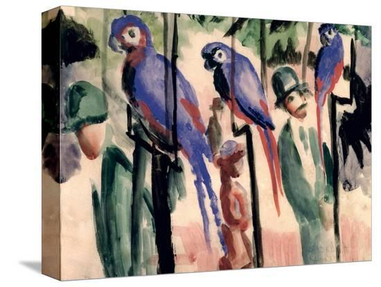 auguste-macke-blue-parrots
