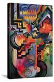Colored Composition (Homage  Sebastian Johann Bach)