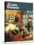 """""""Teenage Party """" Country Gentleman Cover  March 1  1950"""