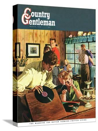austin-briggs-teenage-party-country-gentleman-cover-march-1-1950
