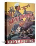 Battle Stations! Keep'em Fighting