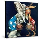 """""""Democrats vs Republicans """" July/Aug 1980"""