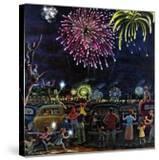 """Fireworks""  July 4  1953"