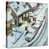 """""""Party After Snowfall""""  February 12  1955"""