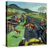 """Slow Mooving Traffic""  April 11  1953"
