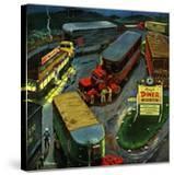 """""""Truck Stop Diner""""  October 10  1953"""
