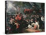 The Death of Nelson  21st October 1805