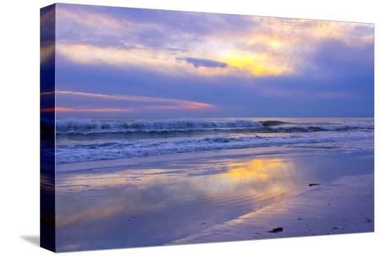 bernard-friel-florida-sarasota-crescent-beach-siesta-key-sunset-over-ocean