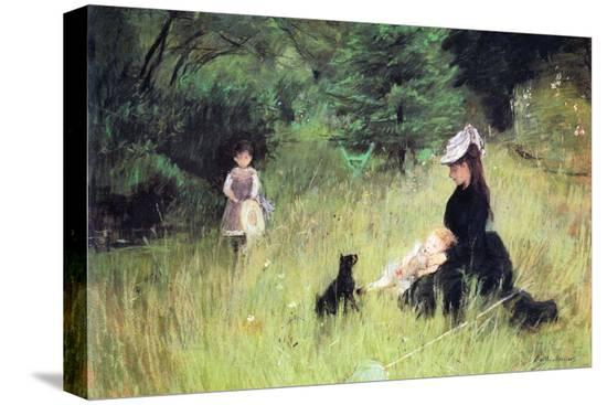 berthe-morisot-in-the-meadow
