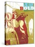 Bold Motorcyclist