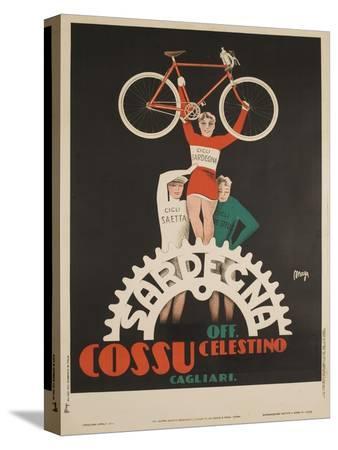 bicycles-cossu-sardegna-italian-advertising-poster