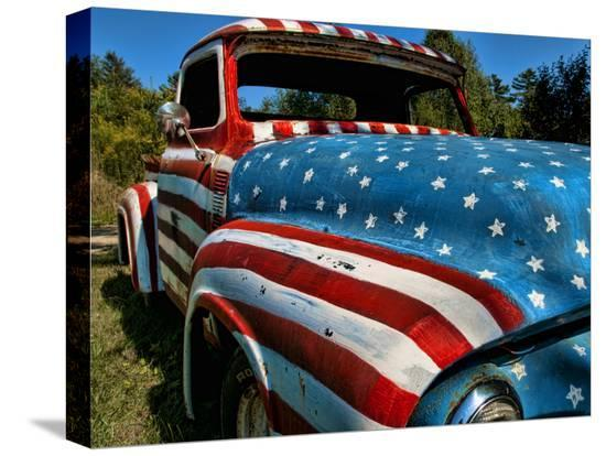 bill-bachmann-old-ford-truck-painted-with-american-flag-pattern-rockland-maine-usa
