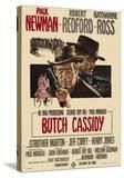 Butch Cassidy and the Sundance Kid  Italian Movie Poster  1969
