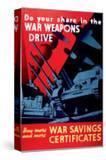 Buy More and More War Savings Certificates