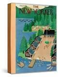 The New Yorker Cover - August 4  1951