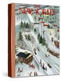 The New Yorker Cover - February 28  1953